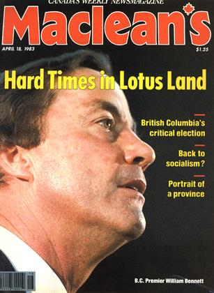 Cover for the April 18 1983 issue