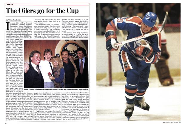 The Oilers go for the Cup