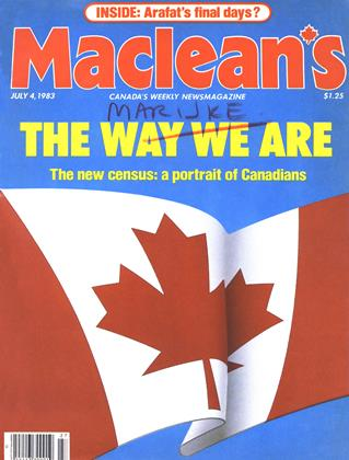 Cover for the July 4 1983 issue