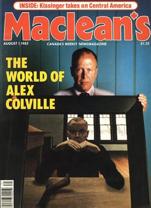 Cover for the August 1 1983 issue