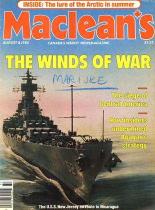 Cover for the August 8 1983 issue