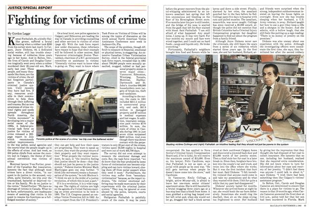 Fighting for victims of crime