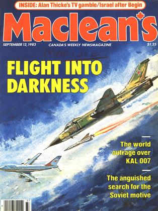 Cover for the September 12 1983 issue