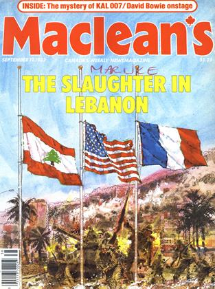 Cover for the September 19 1983 issue