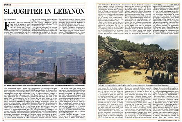SLAUGHTER IN LEBANON