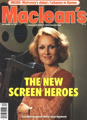 Cover for the September 26 1983 issue