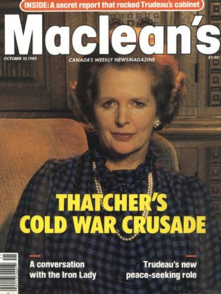 Cover for the October 10 1983 issue