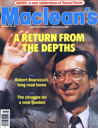 Cover for the October 24 1983 issue
