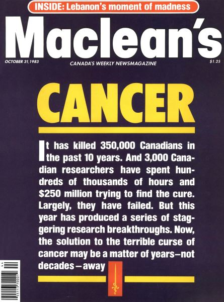 Issue: - October 1983 | Maclean's