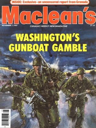 Cover for the November 7 1983 issue