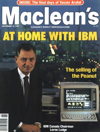 Cover for the November 14 1983 issue