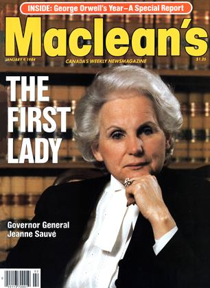 Cover for the January 9 1984 issue