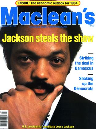 Cover for the January 16 1984 issue