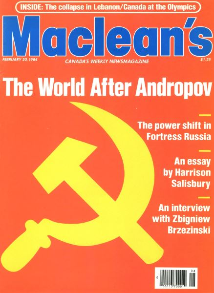 Issue: - February 1984 | Maclean's