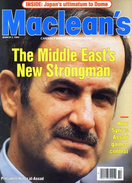 Issue: - March 1984   Maclean's