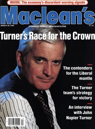 Cover for the March 26 1984 issue