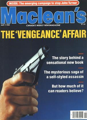 Cover for the May 7 1984 issue