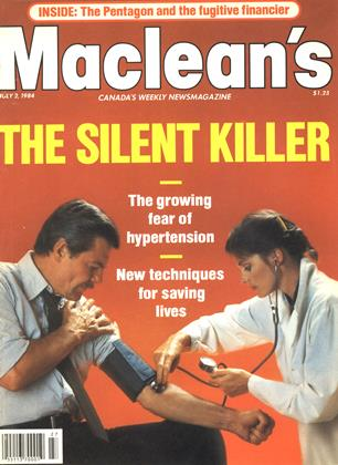 Cover for the July 2 1984 issue