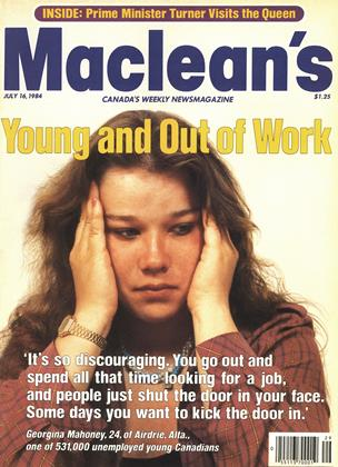 Cover for the July 16 1984 issue