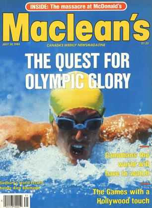 Cover for the July 30 1984 issue