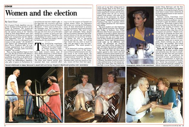 Women and the election
