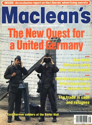 Cover for the August 27 1984 issue