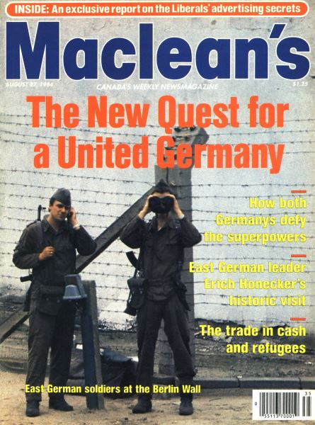 Issue: - August 1984 | Maclean's