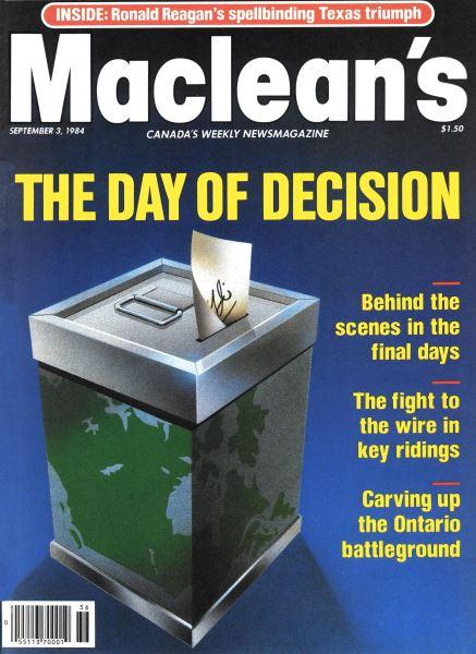 Issue: - September 1984 | Maclean's