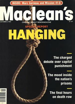 Cover for the October 8 1984 issue