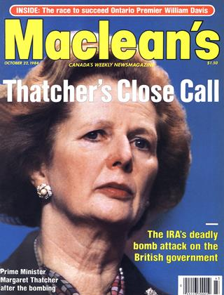 Cover for the October 22 1984 issue