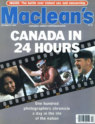 Cover for the October 29 1984 issue