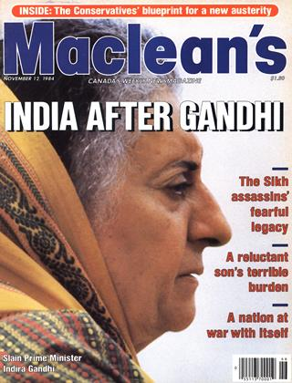 Cover for the November 12 1984 issue