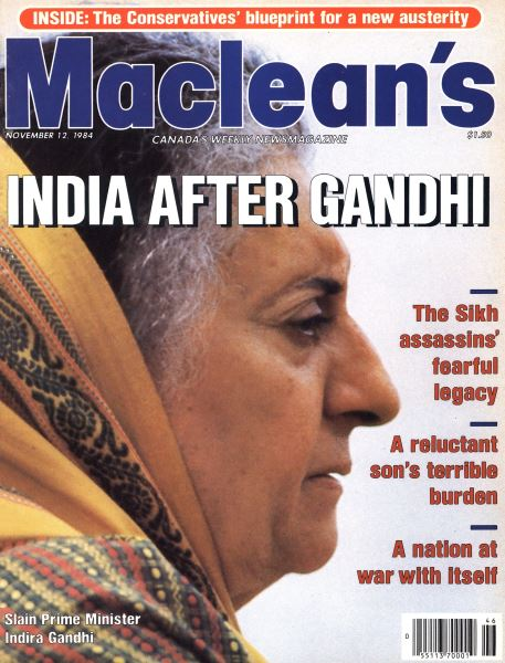 Issue: - November 1984 | Maclean's