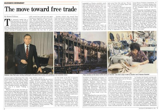 The move toward free trade