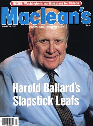 JANUARY 28, 1985 | Maclean's