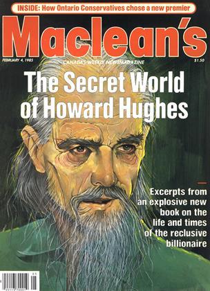 FEBRUARY 4, 1985 | Maclean's