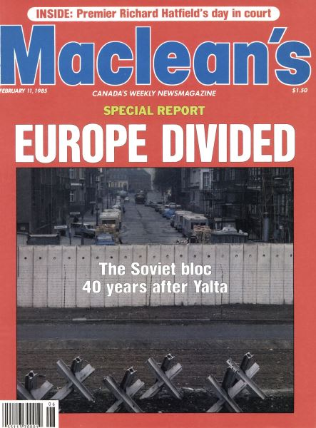 Issue: - FEBRUARY 11,1985 | Maclean's
