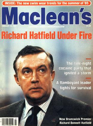 Cover for the February 18 1985 issue