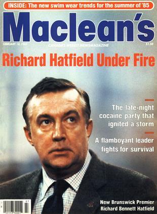 FEBRUARY 18, 1985 | Maclean's