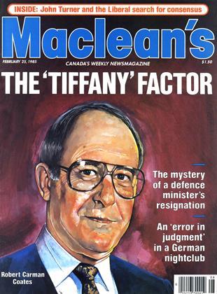 FEBRUARY 25, 1985 | Maclean's