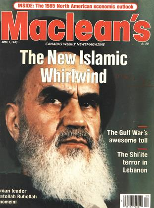 Cover for the April 1 1985 issue