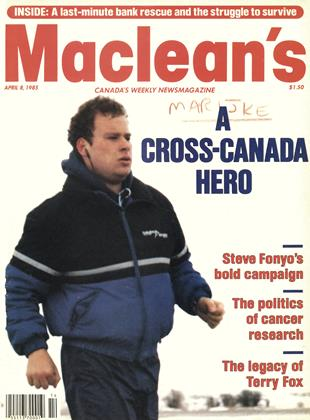 Cover for the April 8 1985 issue