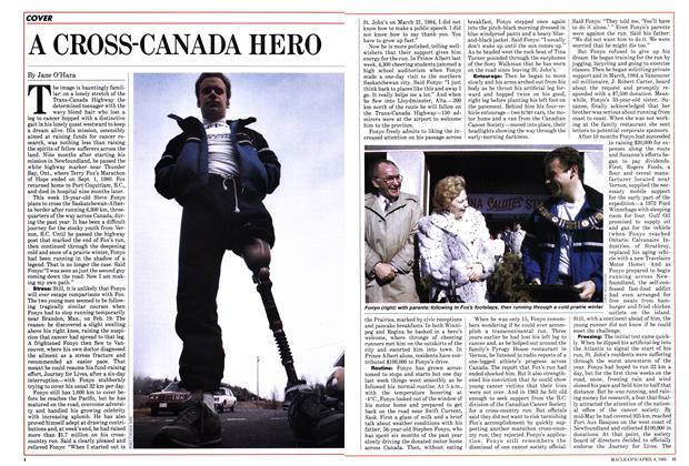A CROSS-CANADA HERO