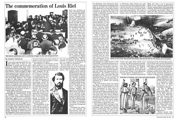 The commemoration of Louis Riel