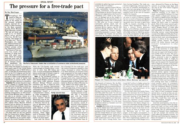 The pressure for a free-trade pact