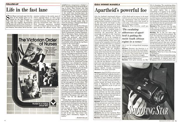 Apartheid's powerful foe