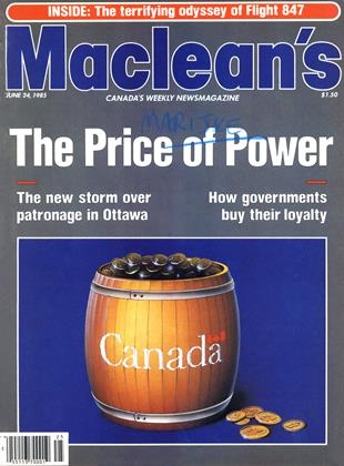 Cover for the June 24 1985 issue