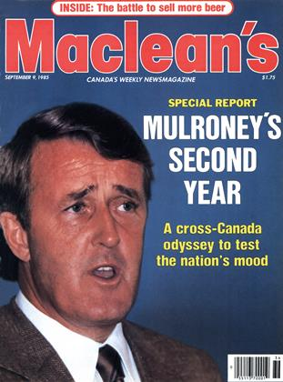 Cover for the September 9 1985 issue