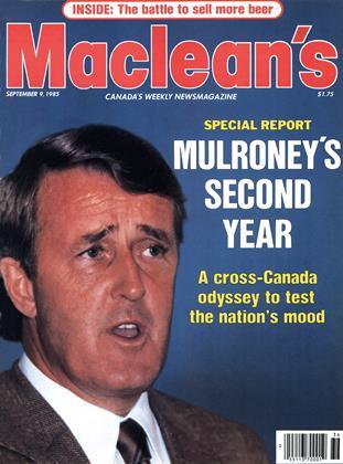 SEPTEMBER 9, 1985 | Maclean's