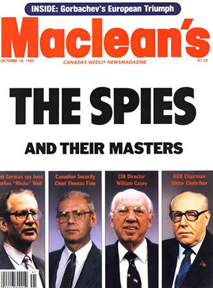 Cover for the October 14 1985 issue